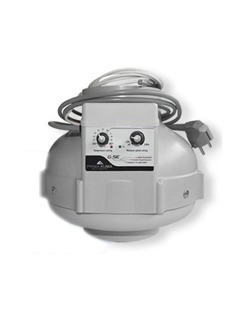 Extractor Prima Klima con control de Temperatura y Regulador de Potencia