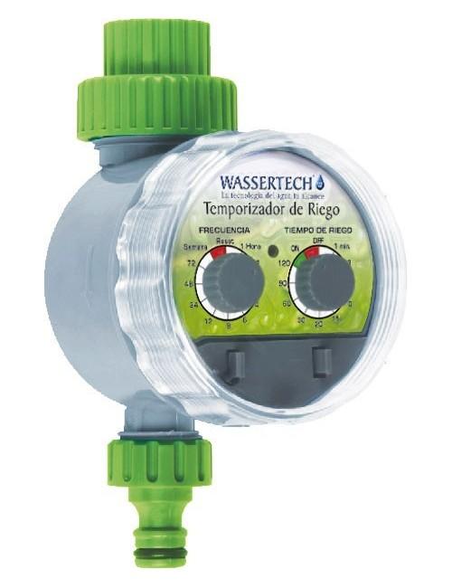 Programador de Riego Analogico Wassertech