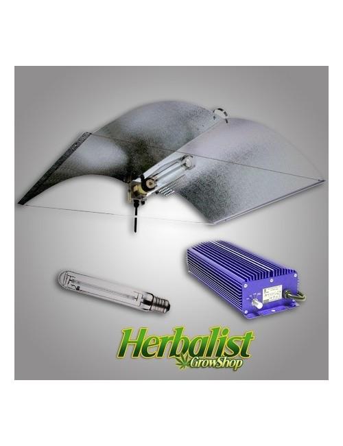 Kit de iluminación electrónico Lumatek 400W Adjust a Wings Enf. Med.