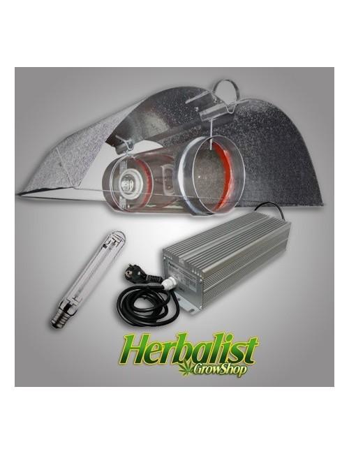 Kit de iluminación electrónico Agrolite 600W Cooltube 125 Alas