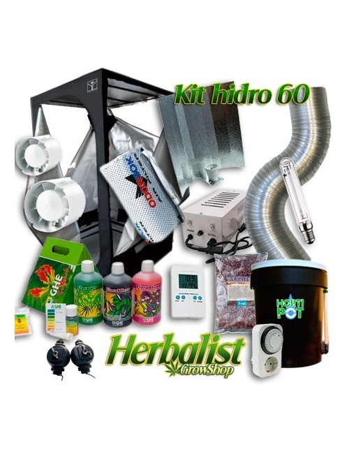 Kit Cultivo Hidropónico 60