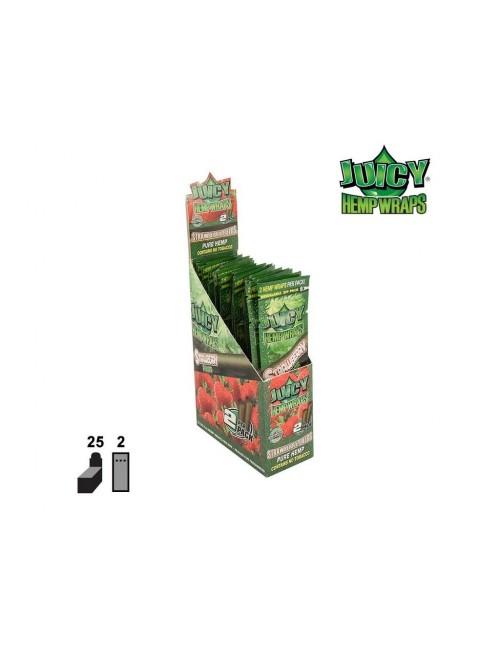 Blunt Juicy Hemps Wraps Strawberry Fields