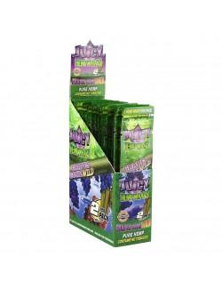 Blunt Juicy Hemps Wraps Grapes Cone Wild