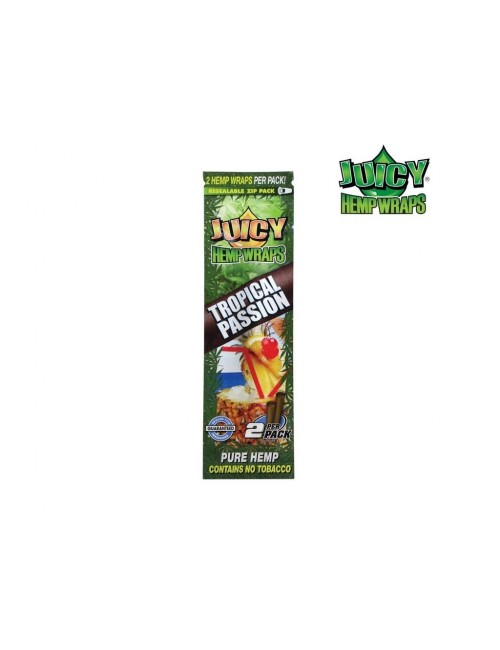 Blunt Juicy Hemp Wraps Tropical Passion