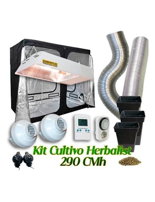 Kit Cultivo Herbalist 290 CMh