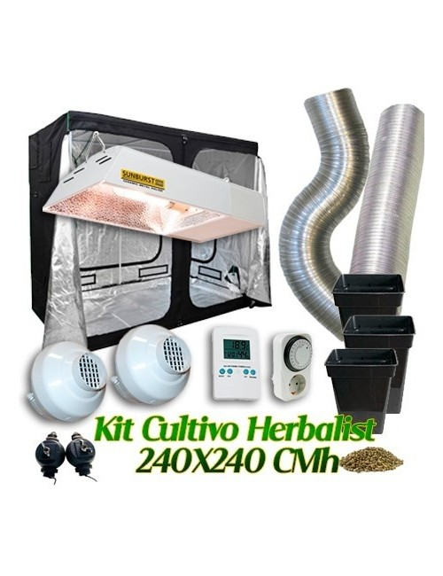 Kit Cultivo Herbalist 240x240 CMh