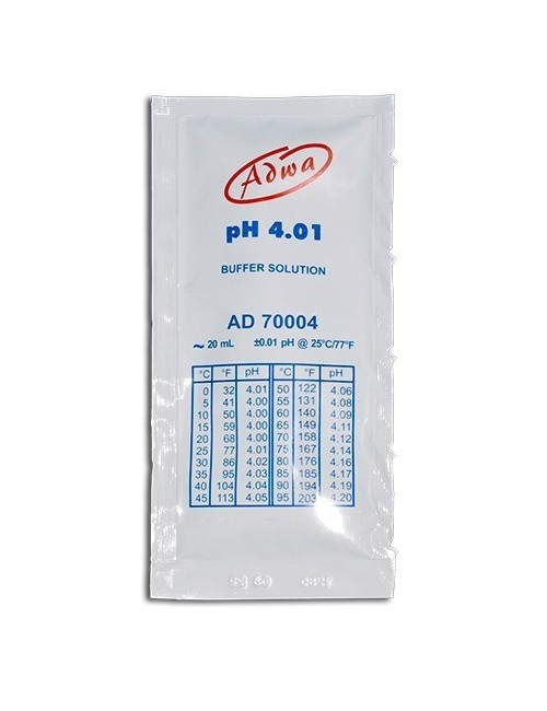 Sobre calibración 20 ml Ph 4 Adwa