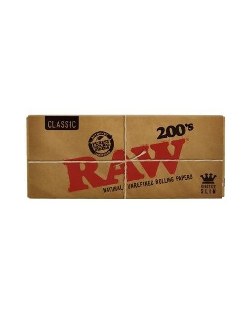 Papel Raw King Size Slim 200