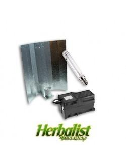 Kit de iluminación magnético Agrolite 400W Reflector Estuco