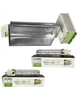 Luminaria LEC Lumii Solar 630W + 2 bombillas Lumii 315w