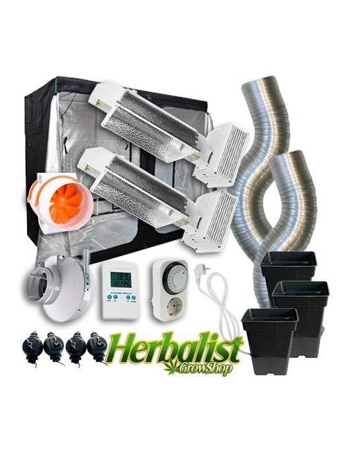 Kit de cultivo interior LEC 2x630w