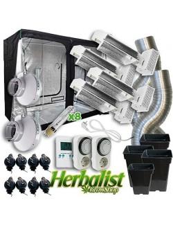 Kit de cultivo interior LEC 4x630w