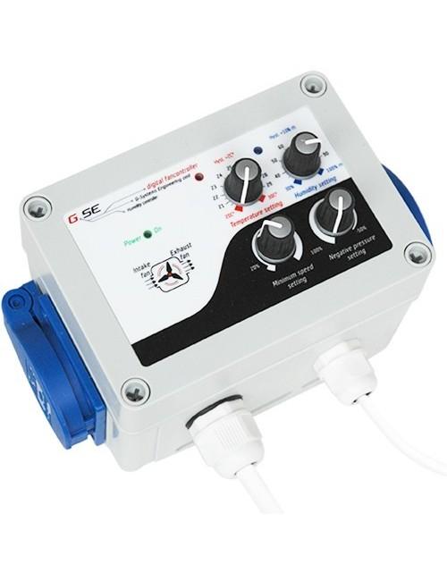 Controlador de Humedad,Temperatura y Baja Presión GSE