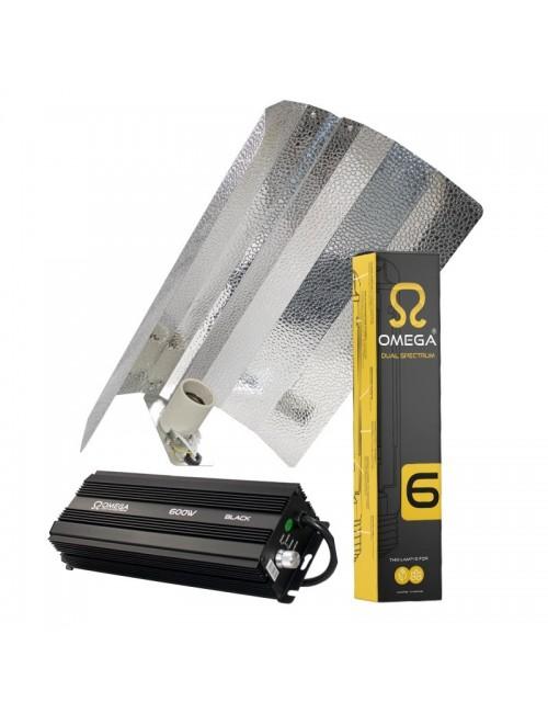 Kit de iluminación electrónico Omega 600W Reflector Estuco