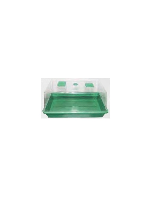 Invernadero Propagador para Esquejes y Semillas (38x24x19cm)