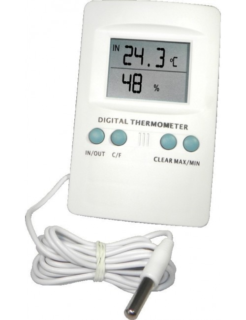 Termohigrómetro Max./Mín. Digital con Sonda