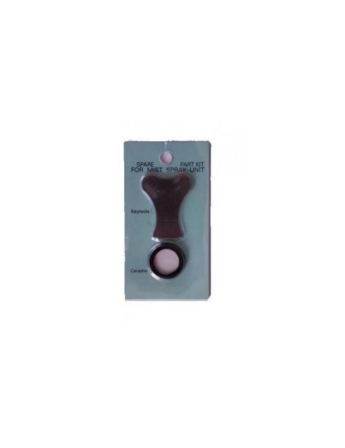 Humidificador recambio membrana ceramica + llave